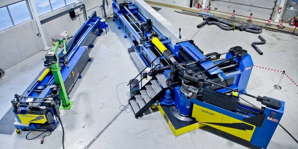 Machine produces high-precision tubular parts in low volumes
