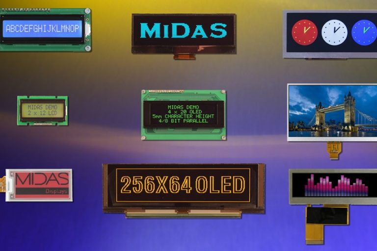 E-paper displays from Midas complement traditional technology