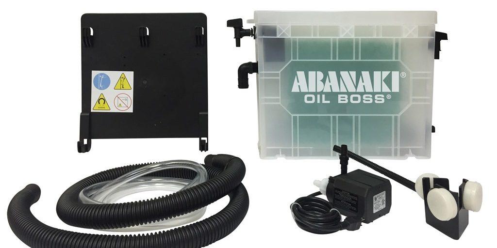 Abanaki showcases portable oil skimmer