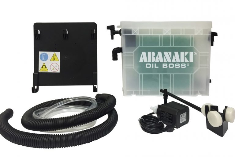 Abanaki showcases portable oil skimmer