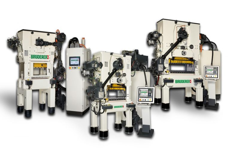 Competitively priced refurbished presses from Bruderer UK