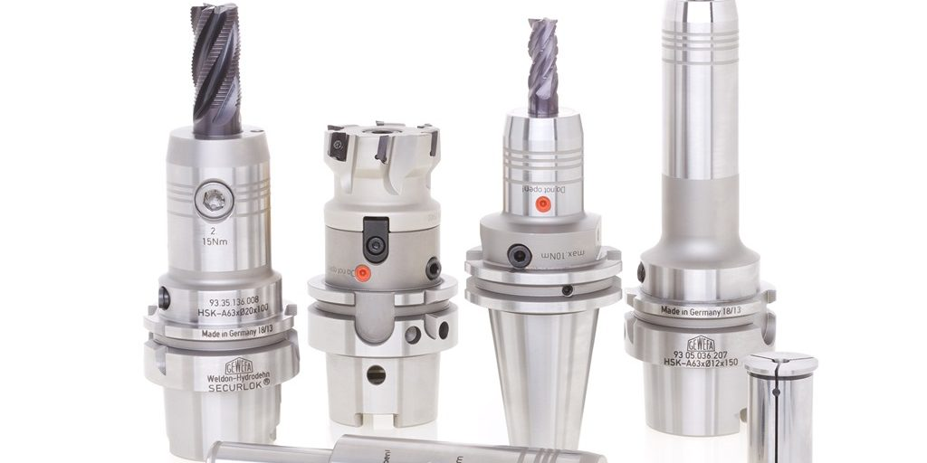 Hydraulic chuck toolholder from Gewefa suits multi-task machines