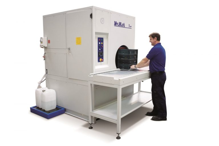 MecWash delivers a thorough clean for large and small parts