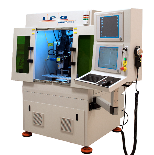 IPG Photonics multi-axis workstation welds dissimilar materials