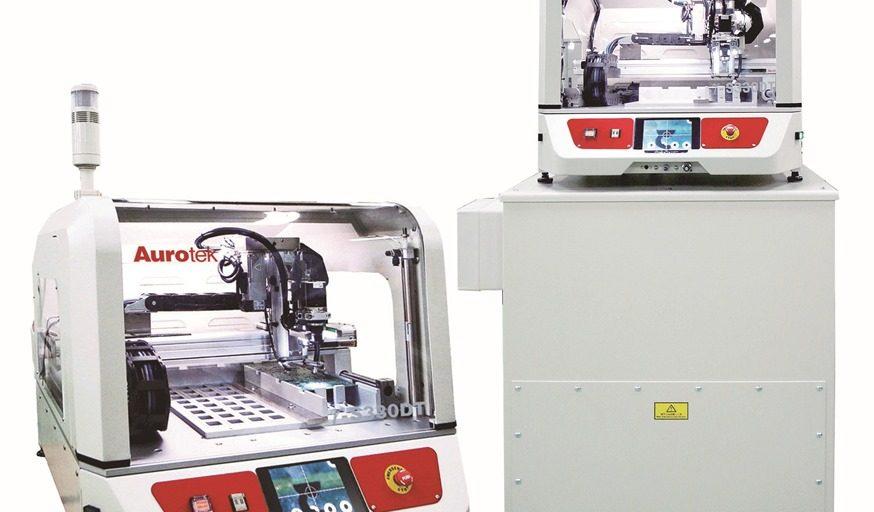 Desktop router from Zen Production Equipment de-panels PCBAs