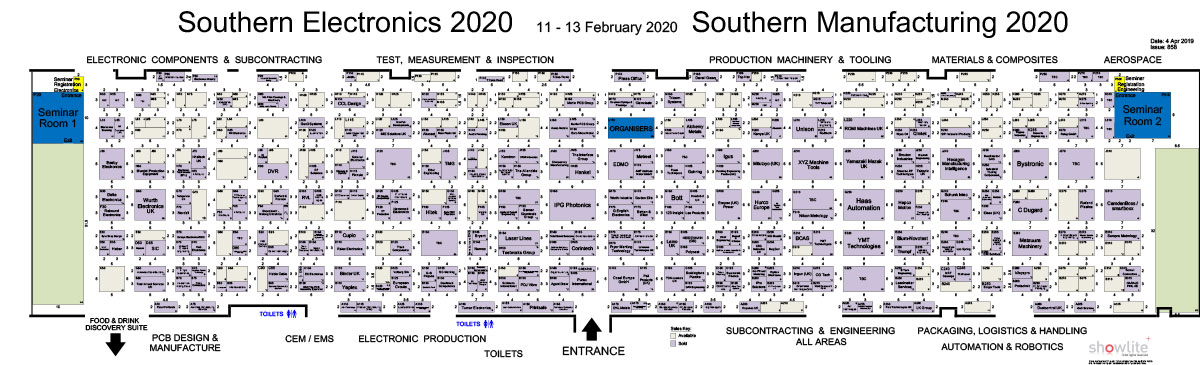 Southern 2019 Floorplan