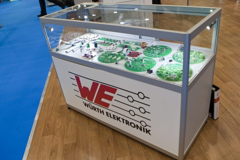 Electronics supplier Wurth visiting!