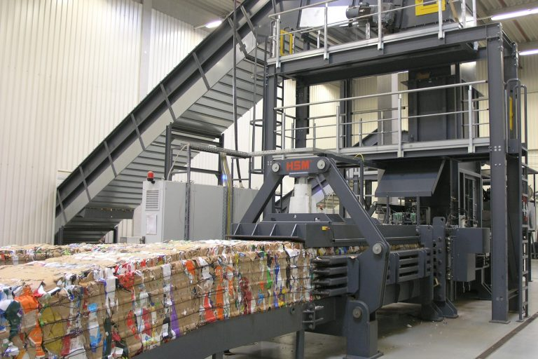 HSM delivers baling presses for every application