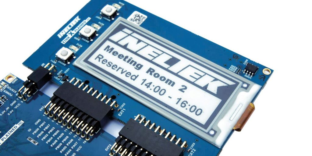 Development boards from Ineltek are ideal for low power displays