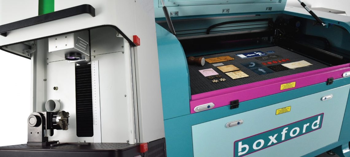 Boxford showcases compact laser marking solution