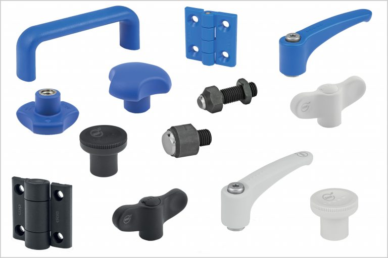 High quality machine components from Elesa (UK) solve multiple problems