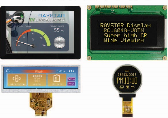 Displays from Easby Electronics include e-paper models