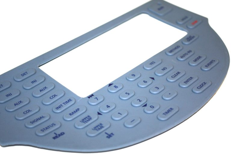 Keypads from G English Electronics can be customised